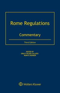 Calliess Rome Regulations